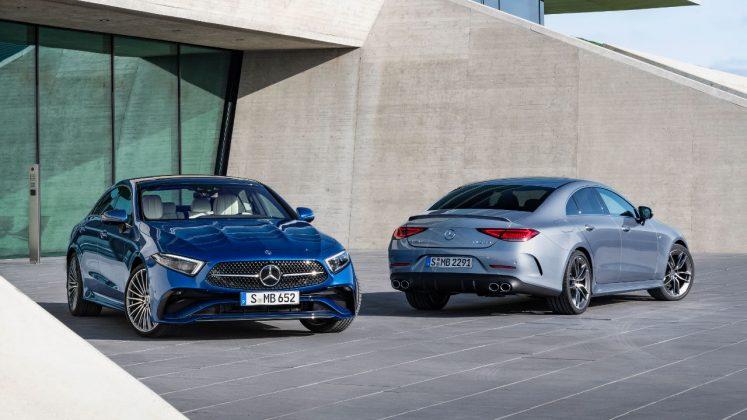 Mercedes CLS ανανέωση 2021 αυτοκίνητο