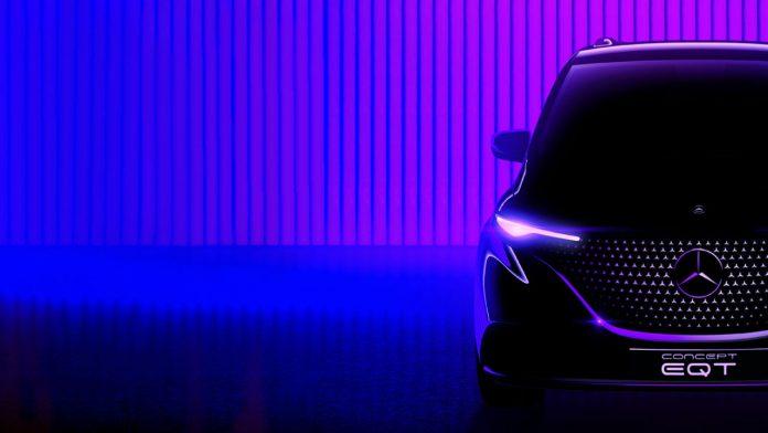 Mercedes concept EQT ηλεκτρικό van