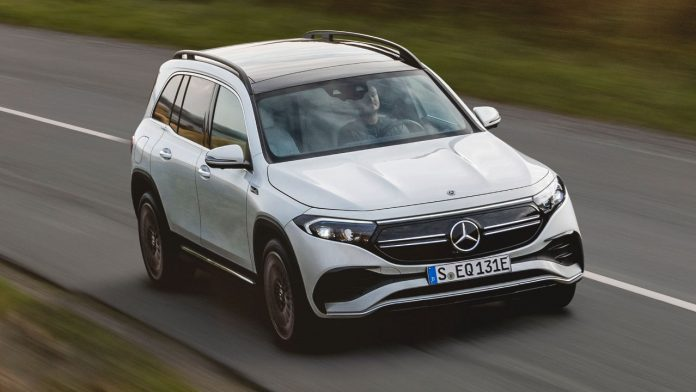 Νέα ηλεκτρική Mercedes EQB 2021