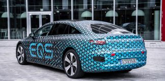 Mercedes EQS 2021 ηλεκτρική Mercedes