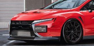 Mitsubishi Lancer Evo ψηφιακά σχέδια 2021