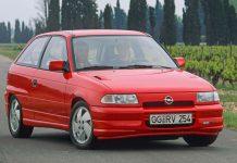 Opel Astra 30 χρόνια
