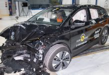 Skoda Enyaq iV crash test Euro NCAP