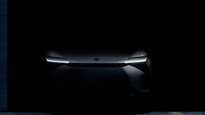 Ηλεκτρικό SUV Toyota 2021 teaser