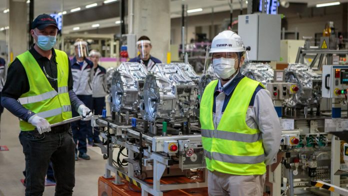 Toyota εργοστάσια Πολωνία παραγωγή 2021