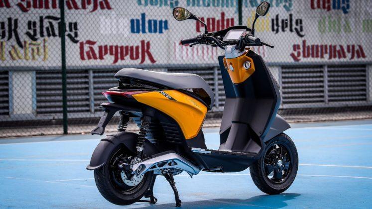 Piaggio One ηλεκτρικό scooter