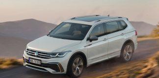 VW Tiguan Allspace ανανέωση 2021