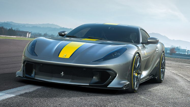 Ferrari 812 Competizione 2021