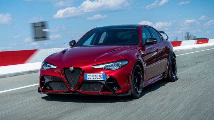 Alfa Romeo Giulia GTAm 2021