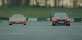 Video Honda NSX vs Civic Type R