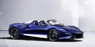 McLaren Elva με παρμπρίζ