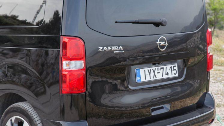 Opel Zafira Life δοκιμή TractioN 2021