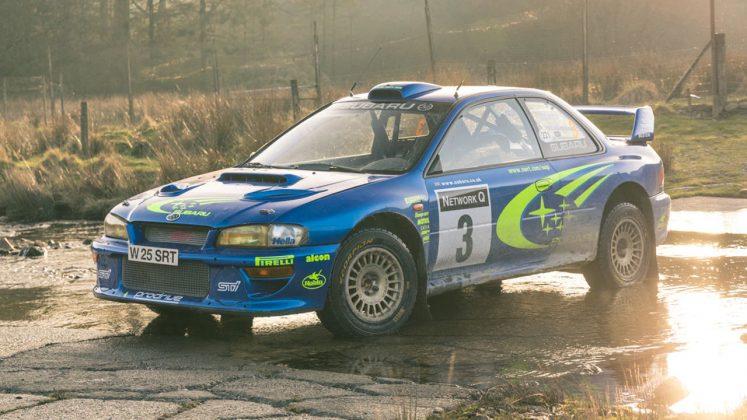 Subaru Impreza S6 WRC δημοπρασία