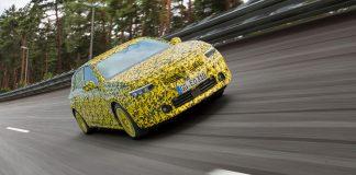 Νέο Opel Astra δοκιμές εξέλιξης
