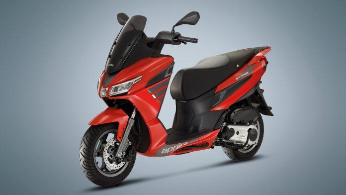 Νέο Aprilia SXR 50 2021