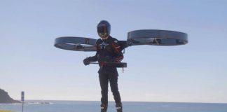 Copterpack, ηλεκτρικό ελικόπτερο πλάτης 2021