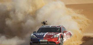 Porsche Taycan Cross Turismo video 2021