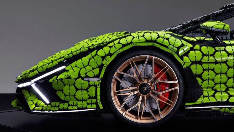 Lamborghini Sian FKP 37 Lego
