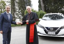 Nissan Leaf Βατικανό 2021