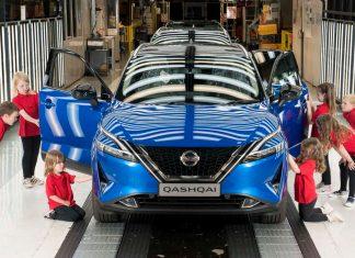 Nissan Qashqai Εργοστάσιο Aunderland παραγωγή