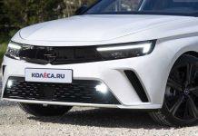 Opel Astra 2021 renderings