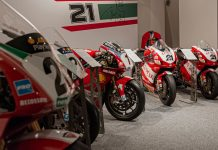 Ducati έκθεση μουσειό Troy Bayliss 2021