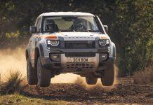 land Rover Defender Bowler Challenge 2021