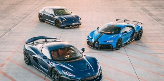 Bugatti Rimac 2021 κοινοπραξία