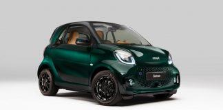 2021 Mercedes Smart Racing Green EQ