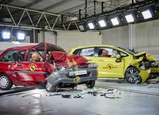 Euro NCAP crash test πέντε αστέρια 2001