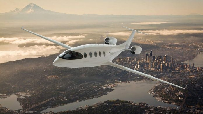 Eviation Alice ηλεκτρικό αεροπλάνο 2021