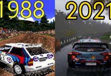 εξέλιξη rally videogames