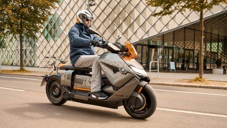 BMW CE 04 2021 ηλεκτρικό scooter