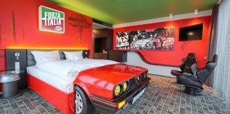 Ξενοδοχείο για petrolheads