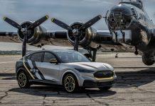 Ford Mustang Mach-E πολεμική αεροπορία