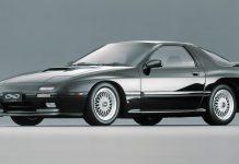 Mazda RX-7 twin-scroll turbo