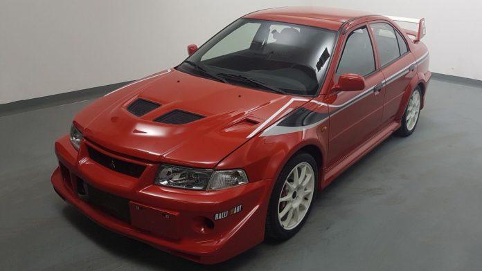 Mitsubishi Lancer Evo Tommi Makinen