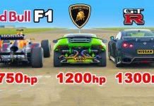 Lamborghini vs Formula 1