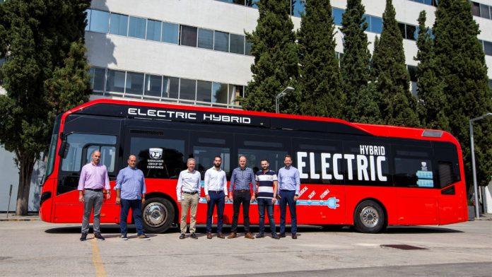 Υβριδικό λεωφορείο Volvo