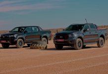 Ford Ranger Vs Toyota Hilux