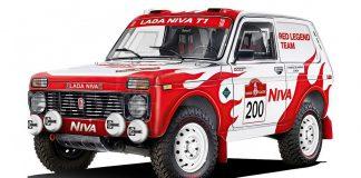 Lada Niva στο Dakar