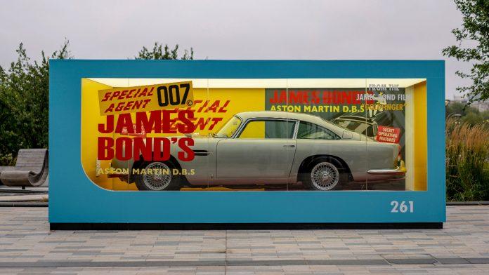 Aston Martin DB5 No Time to Die 2021