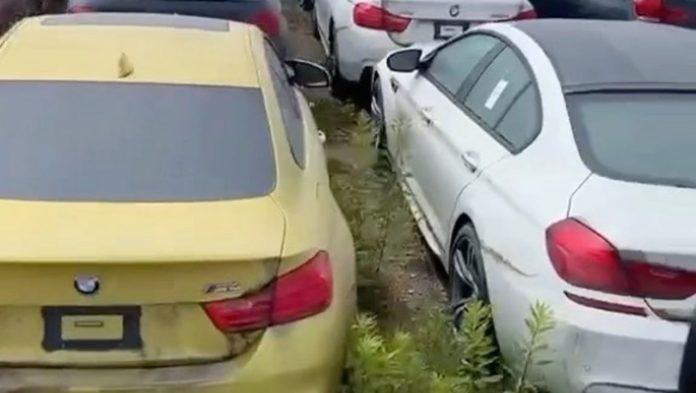 Παρατημένα BMW και MINI