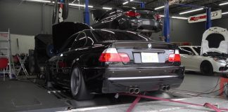 BMW M3 δυναμομέτρηση
