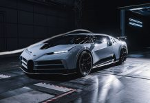 Bugatti Centodieci σήραγγα