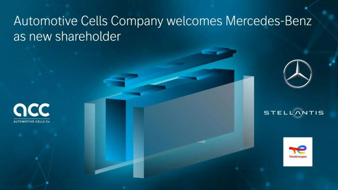Stellantis και mercedes Automotive Cells Company 2021