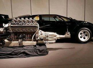 Lamborghini συναρμολόγηση