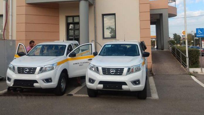 Nissan Navara δήμος πλατανιά 2021