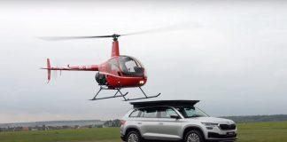 Skoda Kodiaq ελικόπτερο 2021