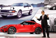 Akio Toyoda κινητήρες